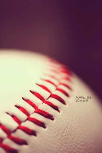 Hello World Sport Baseball Nikon macro for baseball
