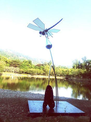 汕头大学第五届公共艺术节—蜻蜓(靳埭强)