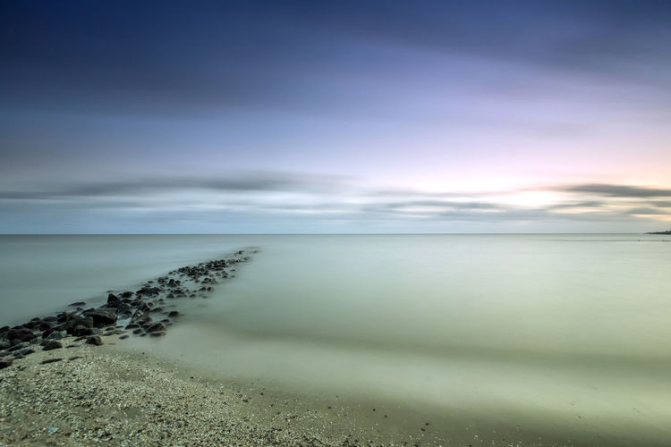 Northsea Blu Büsum OceanCity Schleswig-Holstein Beach Beauty In Nature Cloud - Sky Day Deichhausen Horizon Over Water Nature No People Nordsee Northsea Outdoors Scenics Sea Sky Sky_collection Tranquil Scene Tranquility Water