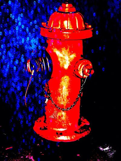 Fire hydrant..
