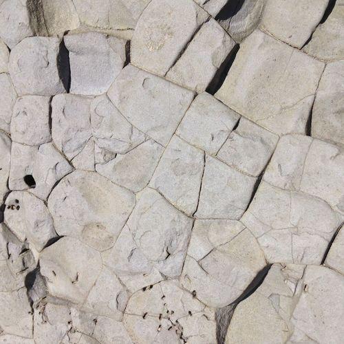 Full frame shot of rock formation at jurassic coast