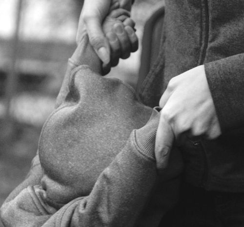 Black And White Photography Children Photography Showcase: December Hands Mother Baby Baby Hands  Baby Hands ❤ Baby Hand Children Mother And Baby Mother And Baby Play Baby Playing Monochromatic Grayscalephotography Gray Playground Handholding Wedding Ring Wedding Rings Engagement Ring Baby With Ring THESE Are My Friends
