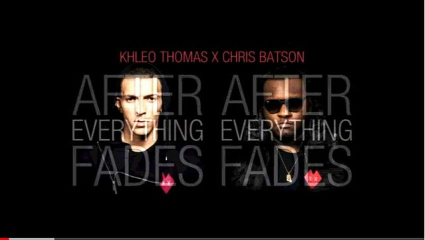 check out after Everything fades album by the lovely Khleo Thomas(:
