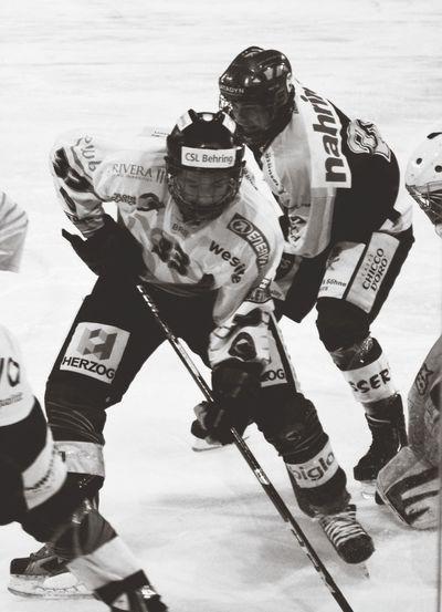 Icehockey My Hero Sport Champion