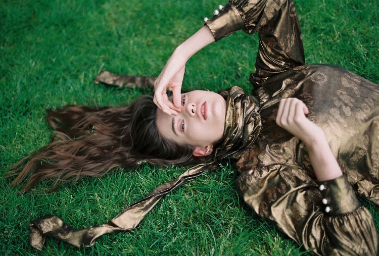 35mm 35mm Film Analogue Photography Casual Clothing Editorial  Fashion Fashion Editorial Fashion Photography Field Film Photography Filmisnotdead Grass Grassy Lying Down Model Outdoors Portrait Relaxation Relaxing