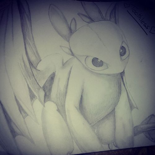 My favourite little guy☺☺☺☺TOOTHLESS❤❤❤ Drawing Art, Drawing, Creativity Toothless Pencil Drawing Fun Lovedrawing