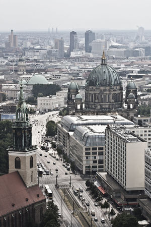 Architecture Berlin Mitte Berlinerdom Building Exterior Built Structure Capital Cities  Churches City City Life Cityscape Day Dome Elevated View Fromtherooftop No People Outdoors Overviews Sky Tourism Town TOWNSCAPE Travel Destinations The Architect - 2017 EyeEm Awards