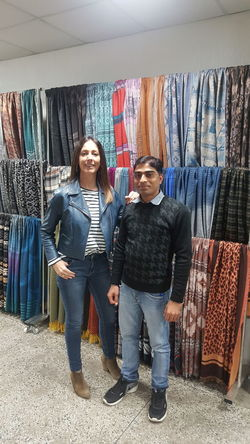 Me with my Spain office Head 'Nerea' Retail  Fashion Store Clothing Store Boutique Adult Choice Adults Only Customer  Consumerism Buying Clothing Young Adult Small Business Casual Clothing Mid Adult Two People Business Finance And Industry Variation Standing The Portraitist - 2017 EyeEm Awards
