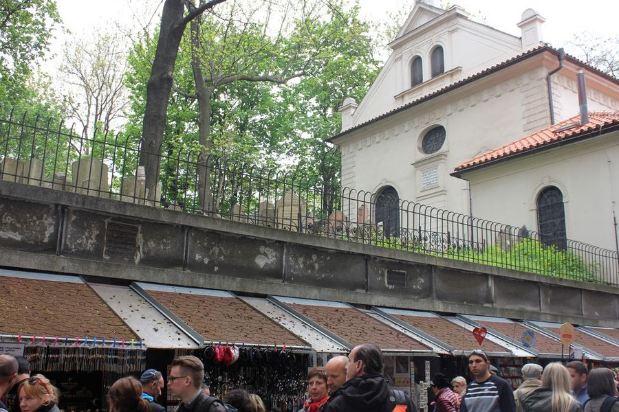 old jewish cemetery in old jewish quarter in prague Cemetery Adult Adults Only Architecture Building Exterior Built Structure City Crowd Day Large Group Of People Lifestyles Men Old Jewish Cemetery Outdoors People Real People Tree Colour Your Horizn Colour Your Horizn