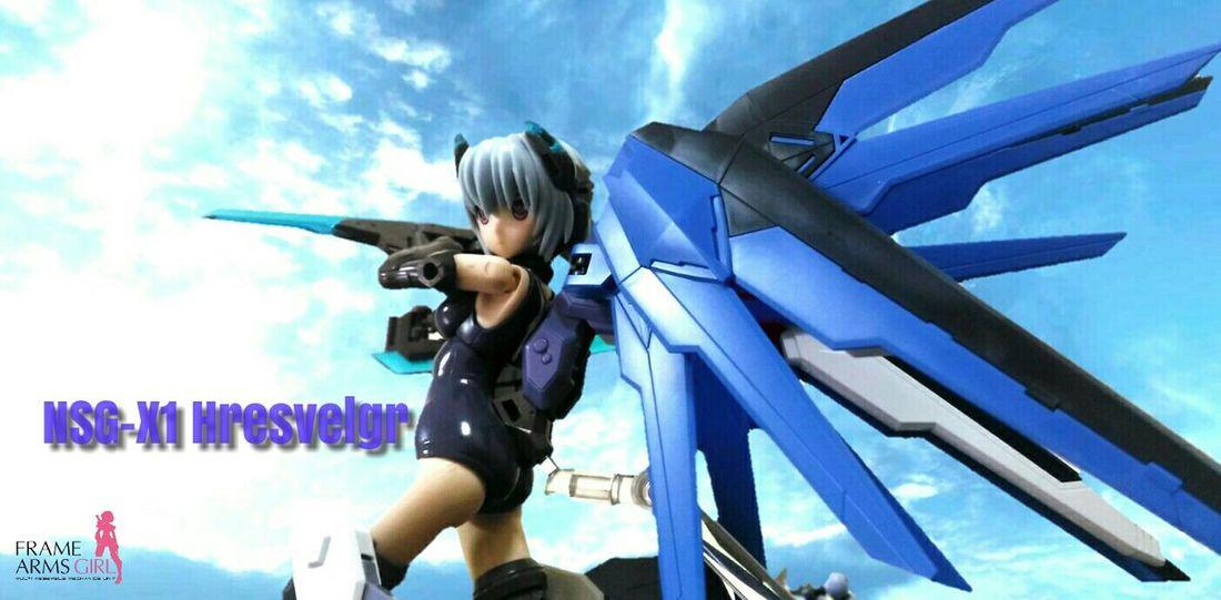 Actionfigures Robot Frame Arms Girl Mecha Hresvelgr