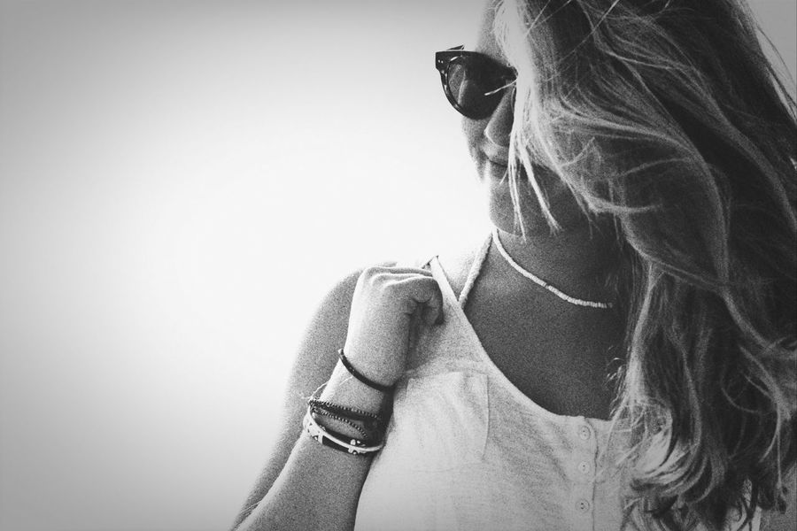 Soustons Portrait Black And White