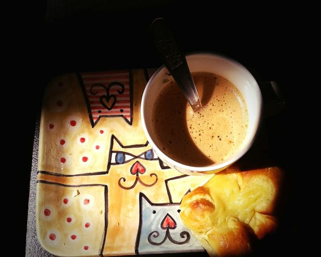 Breakfast Cats Saturday Caturday Coffee Time Coffee And Cigarettes Coffe And Cats Smile :) Relaxing Enjoying Life
