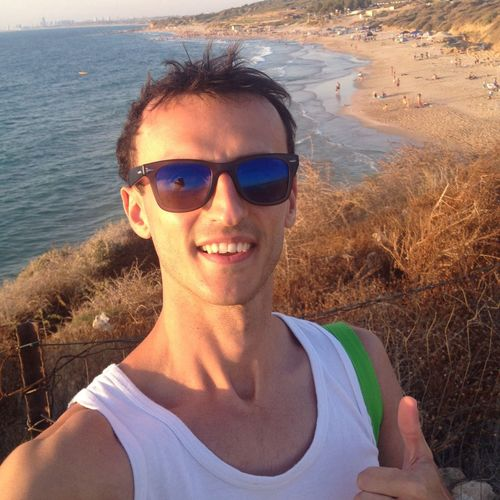Israel Beach Sun Smile