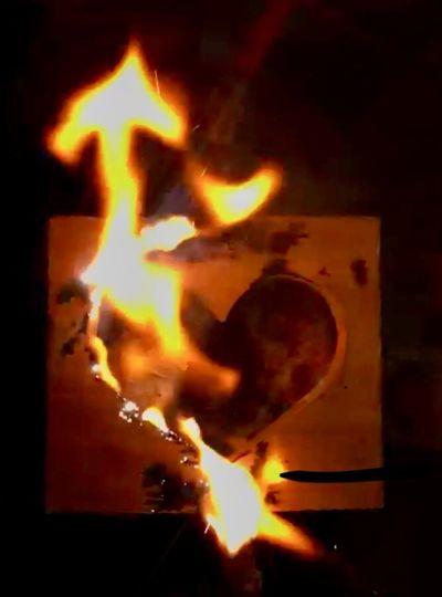Flame Close-up Heat - Temperature Burning Indoors  Night First Eyeem Photo EyeEmNewHere