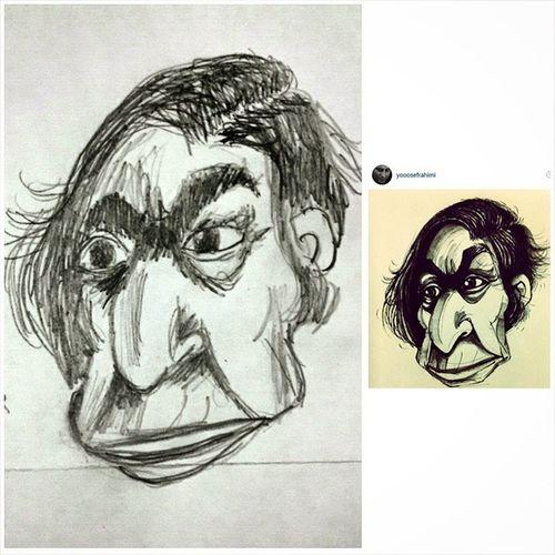 @yooosefrahimi مشق نقاشی امشب استاد ادبیات بازنشسته شمالی درونم هه امیدوارم چشم_خراش نباشه !