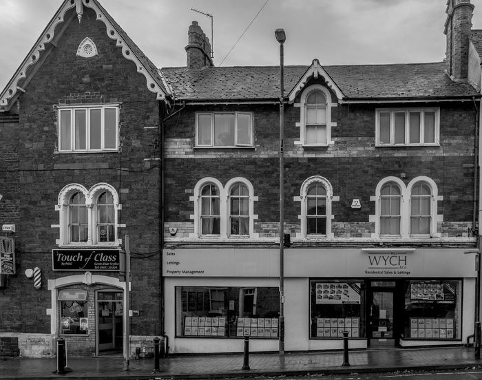 A Touch of Class, Sheep Street, Wellingborough, Northamptonshire Architecture Monochrome Photography Northamptonshire Monochrome Town FUJIFILM X-T2 Urban Black And White Architecture Wellingborough Street