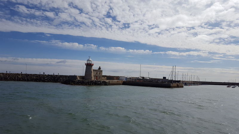https://youtu.be/EQH6qu2pHT8 Cloudy Sky Blue Grey Howth Dublin Ireland Water Sea Lighthouse Beach Nautical Vessel History Harbor Sky Architecture Building Exterior Coast Coastline Ocean Coastal Feature Calm Seascape