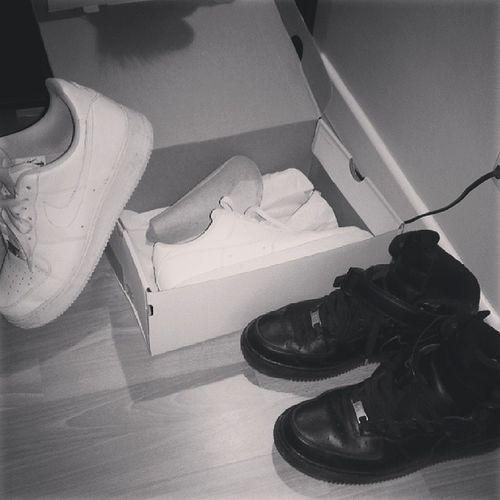 Sneackers Addict SneackersAddict Airforceone ☆Black X White★