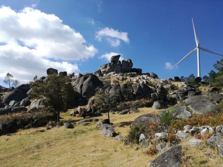 Caramulo Portugal Vistas Paisagem Landscape Rocks Pedras Natureza Céu Sky
