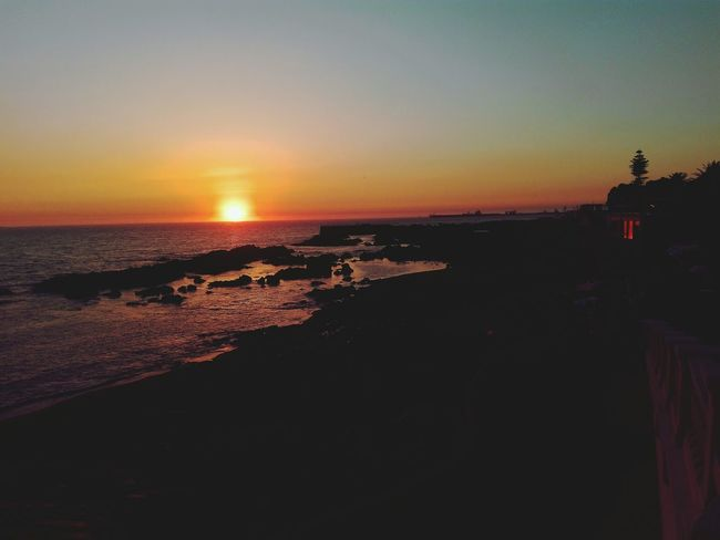 Sunset Sunsetparty Foz, Porto, Portugal