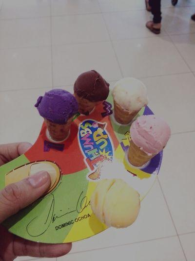 cute little ice cream in cones