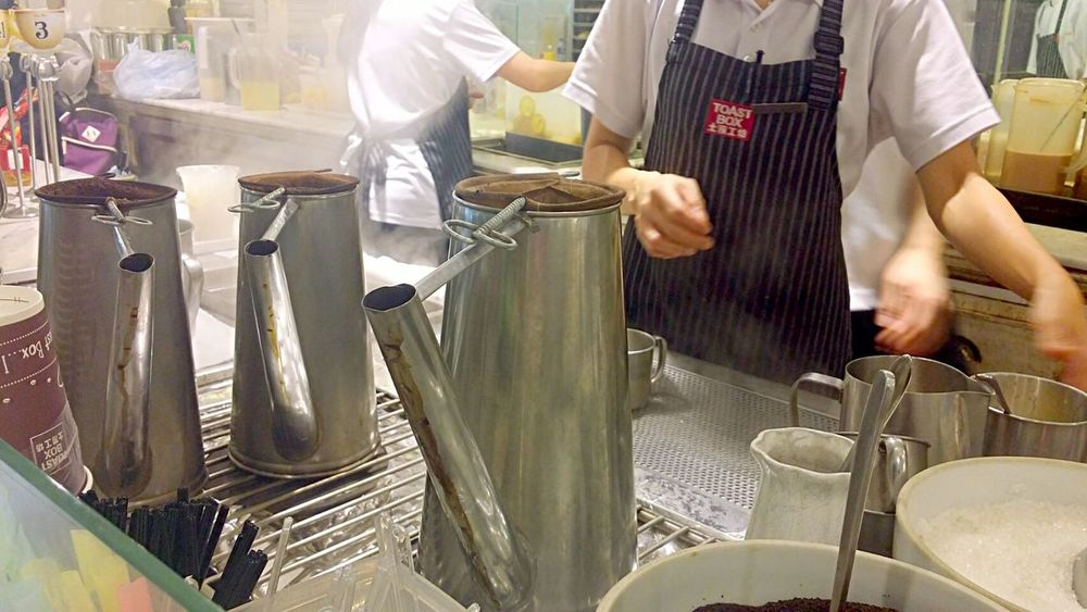 Tea time at toast box! Tea Kopi Food Porn Food Photography