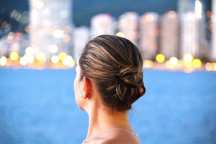 Looking forward. Bokehlicious Bokeh Photography Bokeh Lights Bokeh Love Portrait Of A Woman Acapulco Mexico Summer Views Summertime People And Places