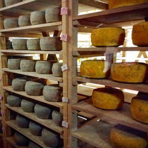 Cheese Aged Cheese Wine Stack Shelf Cellar Warehouse Wine Cellar Goat Cheese Parmesan Cheese Grated Feta Cheese Mozzarella