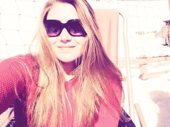 Ski Serre Chevalier  Sun Sunglasses Blonde