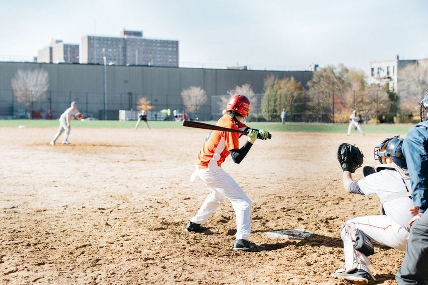Brooklyn Baseball Kids New York Game Looking Into The Future Orange By Motorola Capture The Moment Fresh On Market 2018