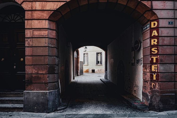 Urban Perspectives Street Photography The Devil's In The Detail Architectural Detail Architecture Built Structure Arch Building Direction The Way Forward No People Building Exterior Day Old Empty Entrance Arcade Absence Outdoors Wall History Brick Abandoned Architectural Column Alley Architectural Feature The Architect - 2019 EyeEm Awards The Street Photographer - 2019 EyeEm Awards My Best Photo