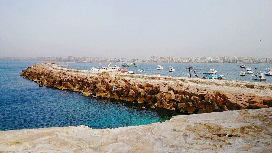 Check This Out Alexandria Egypt Taking Photos Relaxing Egypt My Point Of View Travelegypt Sea City Seascape Citadel