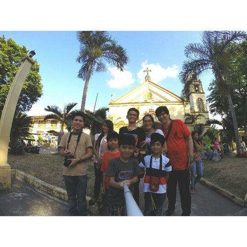 Fourth stop: San Isidro Labrador of Calauan Visitaiglesia2014 Lenten2014 Travel Themanansala gopro