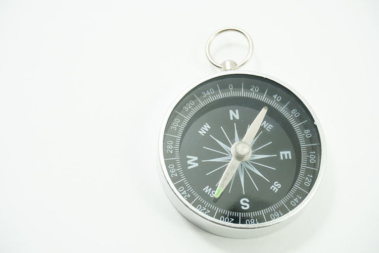 compass on a
