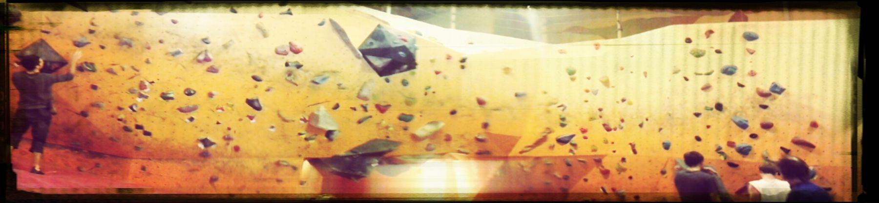 Panorama Yellow Bouldering Bouldern.<3