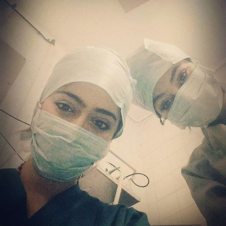 Hospital Medicine Fentanyl Propofol Operation Lhopital Selfie ✌ Tunisiangirl Smile ✌ Tunisia