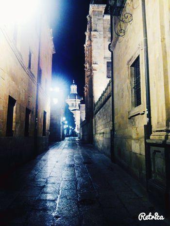 Night Salamanca, Castilla Leon, España Hello World Taking Photos Passion Urban Smoke Roadtrip Livephotography