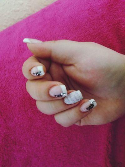 Newspaper Nails Love My Nails :*  Nails <3