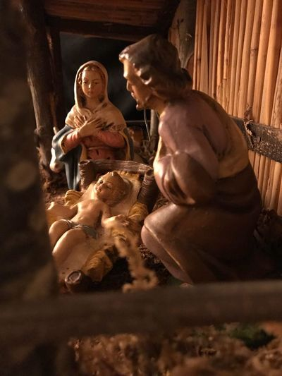 Baby Jesus Nativity Scene Christmas Time EyeEm Selects Indoors  The Still Life Photographer - 2018 EyeEm Awards