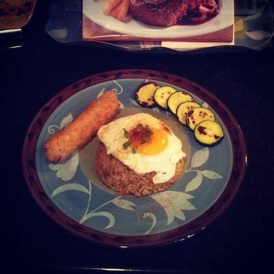 day 27 Kimchi Friedrice Meatless Lent