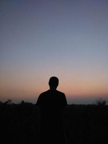 My brother, my homie! Twilight Silhoutte Man In Black People Serene Family EyeEm Best Shots Dimapur Nagaland
