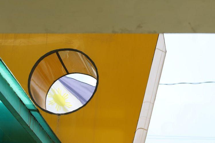 Flag Philippines EyeEm Selects Yellow Close-up Architecture Geometric Shape