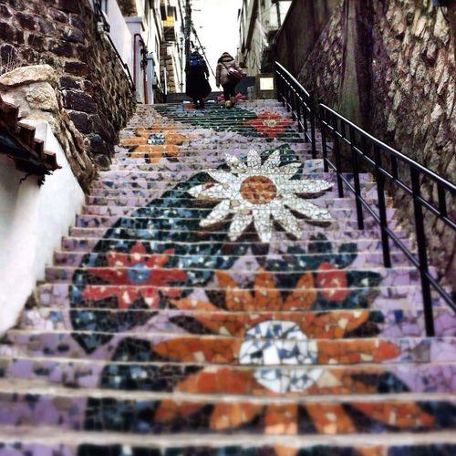 Flora Steps Travel Photography South Korea Street Art Art Project