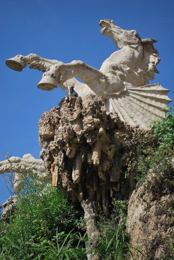 Barcelona Barcelona, Spain Blue Catalonia Catalunya Clear Sky Day Horse Military No People Outdoors Park Sculpture Sky SPAIN Statue Statue Travel Destinations