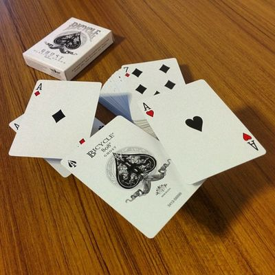 Playingcards BicycleWhiteGhost Ellusionist