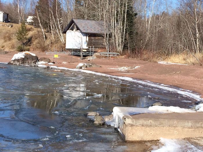 Ice Breaking off the Lake Spring has sprung at the Great Lake Lake Superior Nature_collection Cabin Solace Makes Me Happy Icy Water Cold Temperature Freshness No People Outdoors Shoreline Up North Minnesota Rocks And Water Hiking