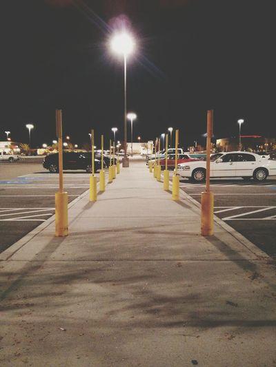 Parking lot blues. Minimalism Minimal Perspectives