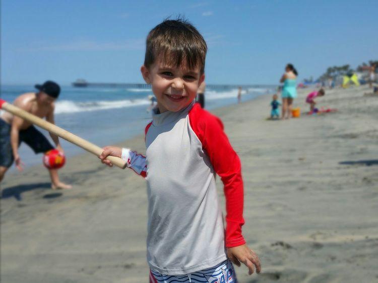 Faces Of Summer Summertime Life Is A Beach Beach Family Time Oceanside California EyeEm Best Shots Little Cousin Little Boy