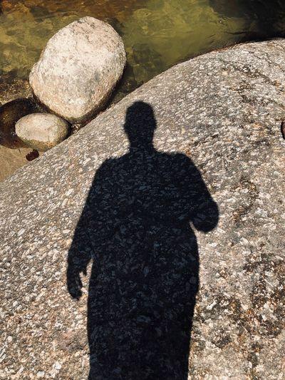 Shadow. Men Day