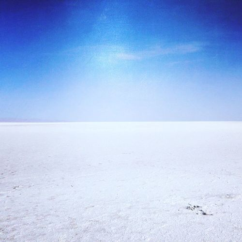 Salt And Sky 2 Colors Entrance To Sahara Nature Is The Best Artist Solitude Deserts Around The World South Tunisia